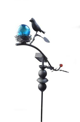 Moonrays 92549 Solar Powered Garden Dancing Bird LED Stake Light