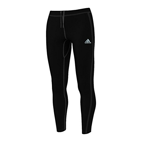 Adidas Sequencials Climaheat Brushed Long Running Tights - Medium - Black