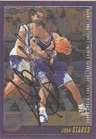 John Starks Utah Jazz 2000 Topps Chrome Autographed Hand Signed Trading Card - Nice... by Hall of Fame Memorabilia
