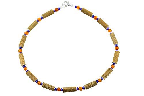 Healing Hazel Hazelamber Baby Necklace, Blue/Amber