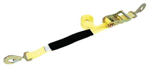 Auto Tie Down with Snap Hook Tail for Axle Straps