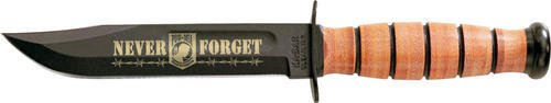 Ka-Bar Knives 9148 Usmc Pow Mia Commemorative Fixed Blade Knife