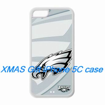 Philadelphia Eagles iPhone 5C Hardshell Case Philadelphia Eagles logo to give as gifts for Christmas, Thanksgivings and Birthday at Amazon.com