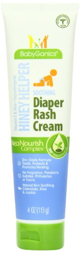 Similar product: BabyGanics Hiney Helper Soothing Diaper Cream