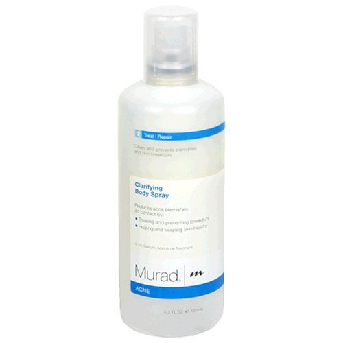 Murad Acne Clarifying Body Spray, Step 2 Treat/Repair, 4.3 fl oz (125 ml)