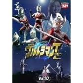 DVD ウルトラマンタロウ VOL.10