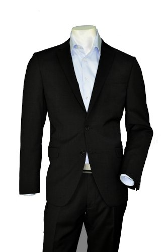 Michaelax-Fashion-Trade Slim Fit Herren Anzug der Marke STONES in Schwarz, Art. Nice (Col. 900) 24