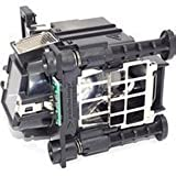 Replacement Lamp With Housing For BARCO R9801272 With Genuine Original Philips Bulb Inside