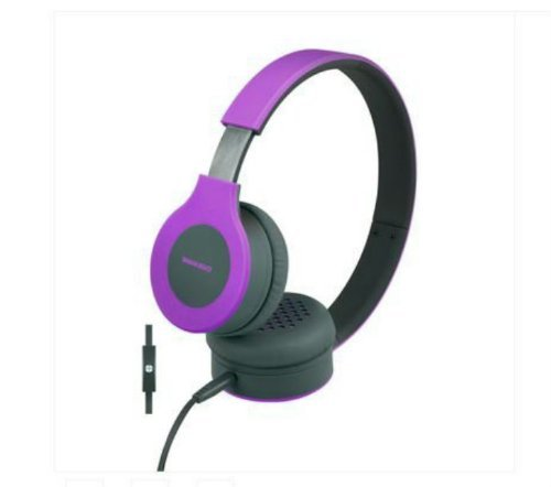 Urban Beatz Flux Headphone With Mic - Purple