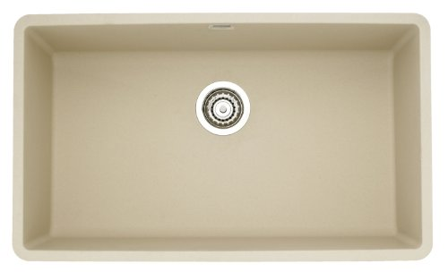 Blanco 441299 Précis Super Single Bowl Sink, Biscotti