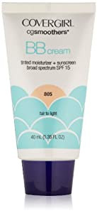 CoverGirl Smoothers SPF 15 Tinted Moisturizer, Fair To Light 805, 1.35 Ounce