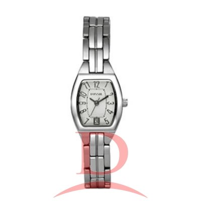 Fossil Women's ES2072 Stainless Steel Bracelet Silver Analog Dial Watch