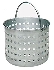 20 QT COMMERCIAL ALUMINUM STEAMER BASKET by overstockedkitchen