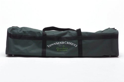 Townsend croquet - full size croquet set in a canvas bag