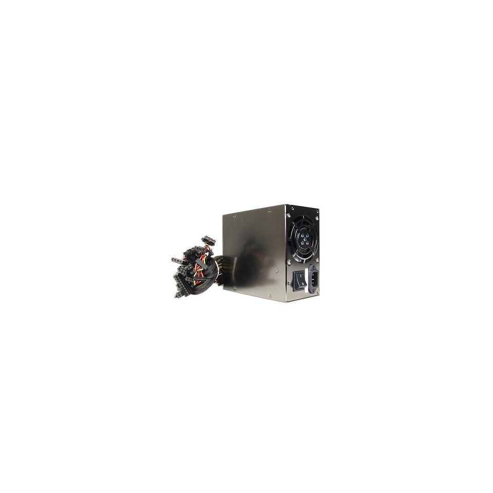 ASYS 650W 20+4 pin Dual Fan ATX PSU