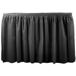 Duni 286559 Black Tableskirt, 29