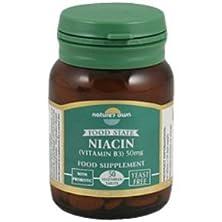 buy Natures Own - Niacin B3 50Mg | 50'S