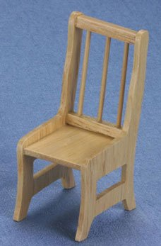 Dollhouse Oak Chair - 1