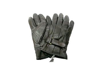 Mens Soft Covington Length 100% Leather Gloves - Black (Sizes M-xL) Covington Men S Fleece-lined Leather Gloves (M)