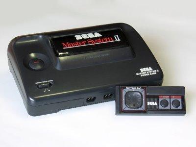 Sega Master System II Including Sonic the Hedgehog Game