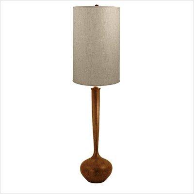 Wood Tulip Floor Lamp