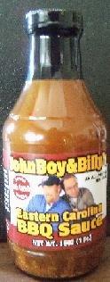 John Boy & Billy's Eastern Carolina BBQ Sauce 16oz