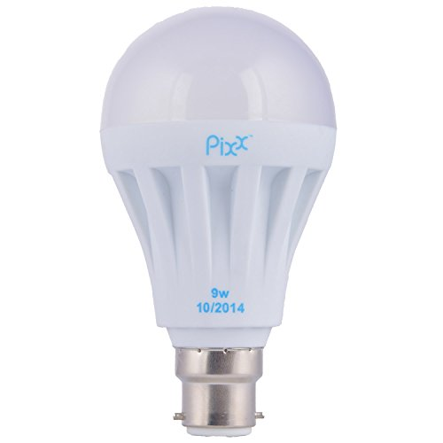 9W Aluminium LED Bulb (White)