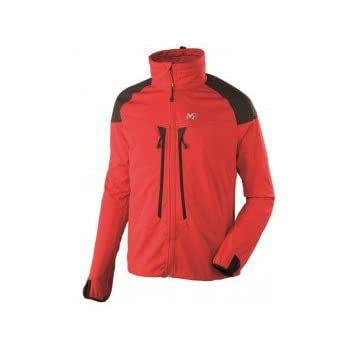 MILLET Switch shield Veste softshell homme miv4606 rouge