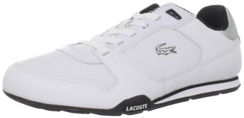 Lacoste Men's Romara CI Sneaker,White/Black,8 M US