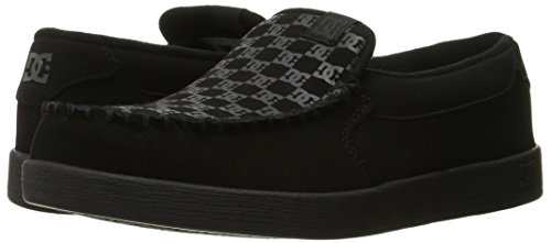DC Men's Villain Skate Shoe, Black Print, 13 M US