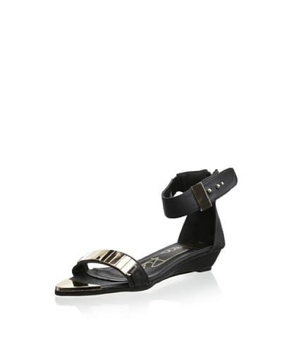 Modern Rush Women's Fyn Ankle Strap Sandal  [Beige]