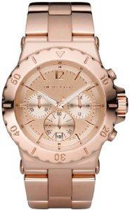 Michael Kors - Reloj de pulsera hombre, acero inoxidable, color dorado