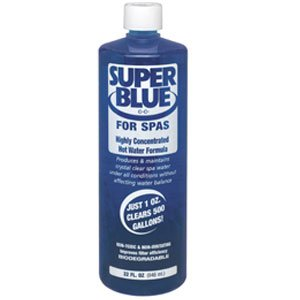 Robarb Super Blue Water Clarifier For Pools 1 Quart 1 Bottle Swimming Pool