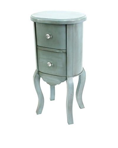 Teton Home Wooden Cabinet, Blue