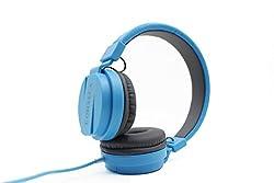 Corseca Stereo Single Pin Headphone With MIC - Blue