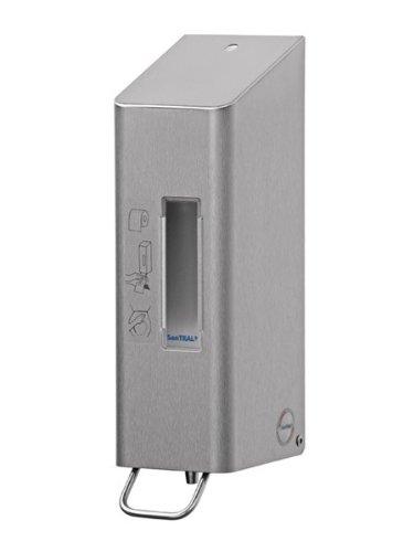 Ophardt SanTRAL TSU Spender für Toiletten-Desinfektion, Farbe:Edelstahl.weiß. pulverbeschichtet;Inhalt:600 ml