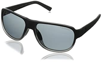 Converse Men's R002 Rectangular Sunglasses, Black Gradient