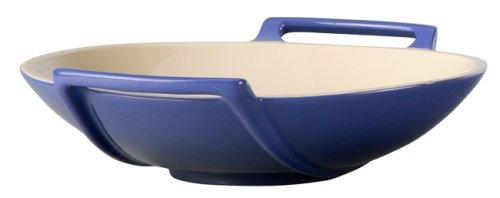 Le Creuset Stoneware Wok Dish, Cobalt