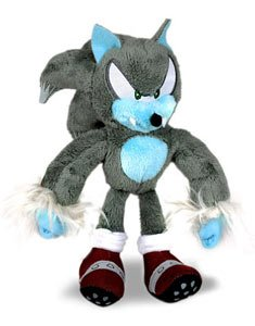 Picture of Zoofy International Sonic The Hedgehog 7 Inch Soft Plush Figures Werehog (B005EN37JO) (Zoofy International Action Figures)