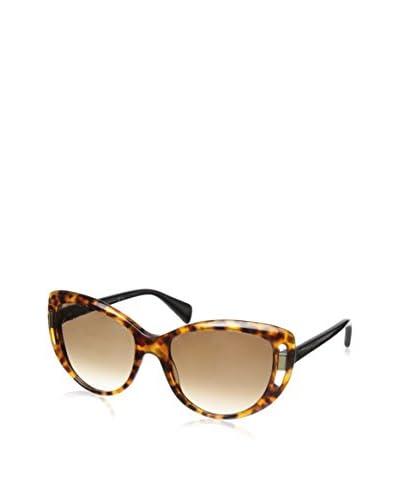 Alexander McQueen Women's AMQ4238/S Havana/Brown Gradient Sunglasses