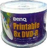 BENQ BEQ DVR47 8XWB50 8倍速対応 DVD-R DATA用 ワイドプリンタブルホワイト 50枚スピンドルパック