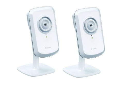 D-Link Pack Of Two Dcs-930L Mydlink Wireless-N Network Cameras