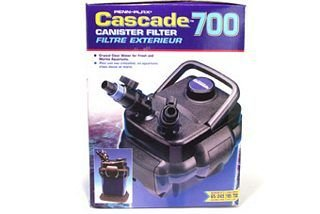 Cascade® 700 Canister Filter for up to 65 Gallon Aquariums, 185gph