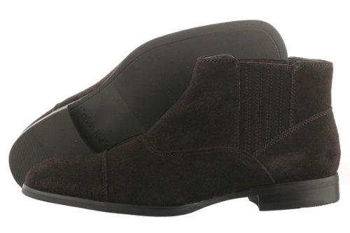 Calvin Klein Men'S Cecil Dark Brown Boot 10.5 M