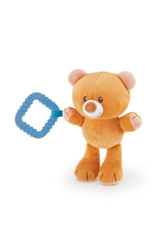 Trudi Teething Ring, Teddy Bear, 3 Months Plus
