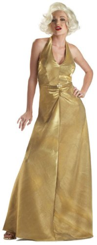 Gold Marilyn Monroe Costume
