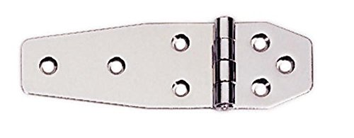 MARINE BOAT STAINLESS STEEL 304 7 HOLES HINGE 5.1 BY 1.5 INCHES