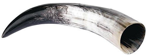 Viking Drinking-Horn 0,5 litri Corno nero/bianco