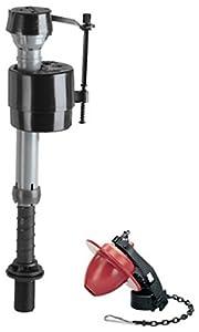 Fluidmaster 400CR Toilet Fill Valve And Flapper Repair Kit Faucet Trim Kits