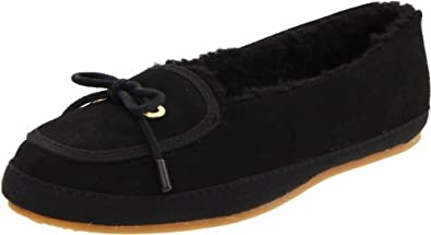 Keds Women's Dorm Cozy Suede Sneaker,Black,5.5 M US